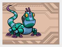 Iguana color copy