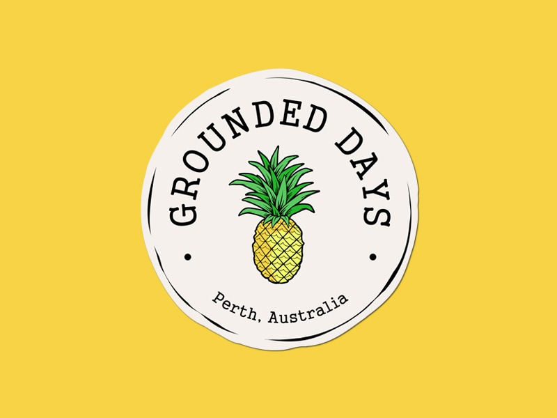 Logo design for Bar and Restaurant australia perth logo vintage pineapple