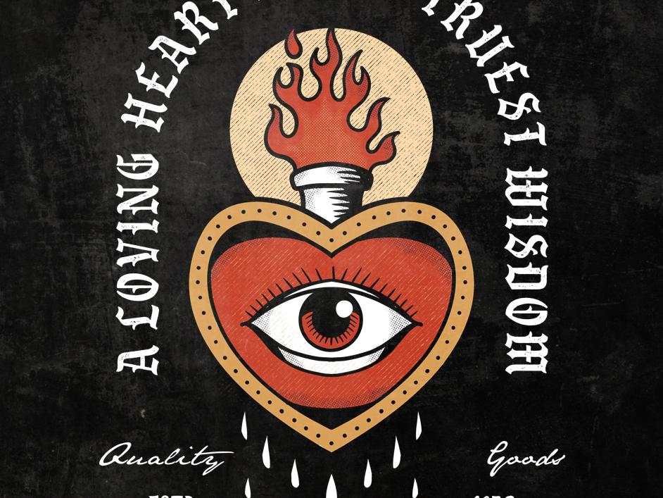 Truest Wisdom traditional tattoo traditional art illustration design classic retro vintage