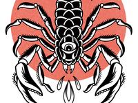 Scorpion Tattoo Flash