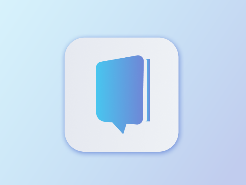 App Icon for Daily UI #005 book website flat checkout ui ux ux design web app logo illustration icon vector design