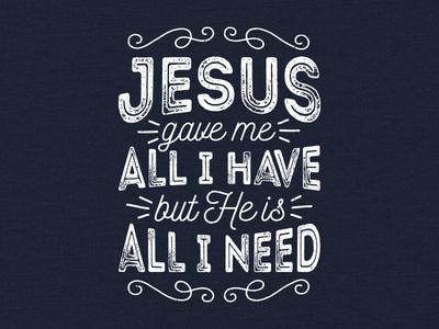 All I Have t-shirt religious faith christian apparel