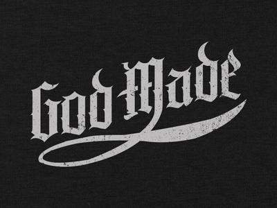 God Made t-shirt religious faith christian apparel