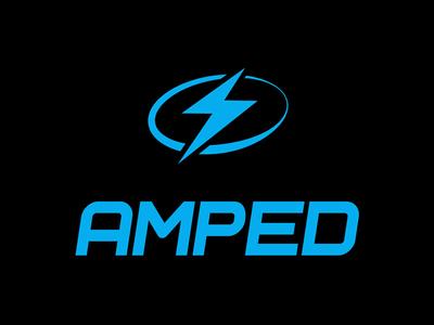 Amped Logo branding logos