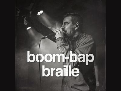 Boom-Bap Braille   Spotify Playlist music spotify playlist cover art
