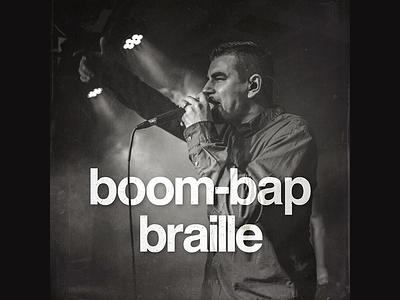 Boom-Bap Braille | Spotify Playlist music spotify playlist cover art