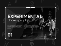 Theater of experimental choreography.