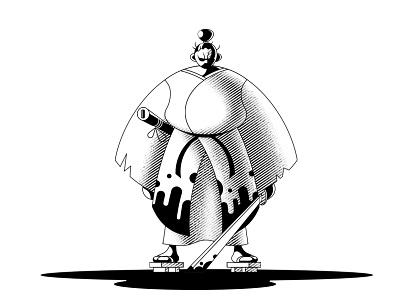 Samurai fighter character design texture warrior katana ninja art japan samurai charachter illustration