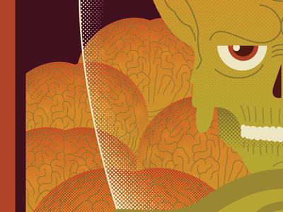 Martian illustration pop culture mars attacks
