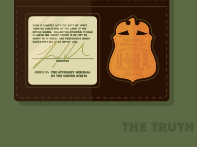 The Truth is Out There pop culture illustration x files