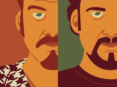 The Boys illustration pop culture trailer park boys