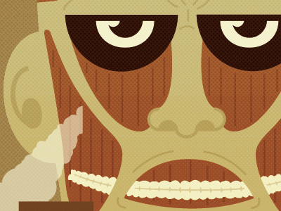 A Grim Reminder illustration pop culture attack on titan