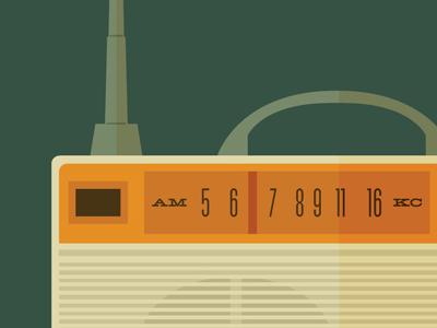 Radio retro radio