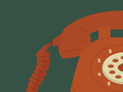 Telephone retro telephone