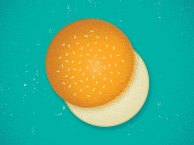 Bun bun bread design ingredient food game gaming tabletop burger card game