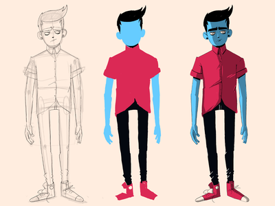 Just me design illustration sketch adobe animate charachter design
