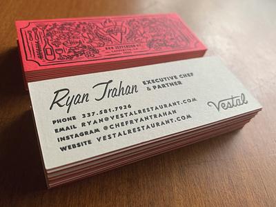 Vestal cards