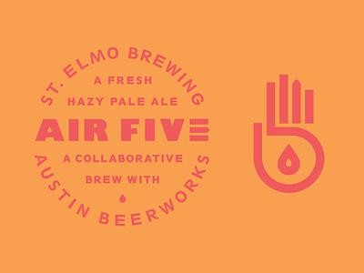 AIR FIVE - St. Elmo X Austin Beerworks