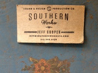 Southern works frontandback