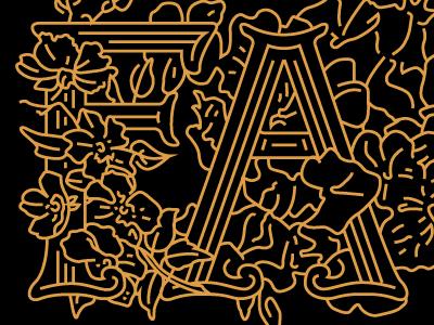 F   a initials