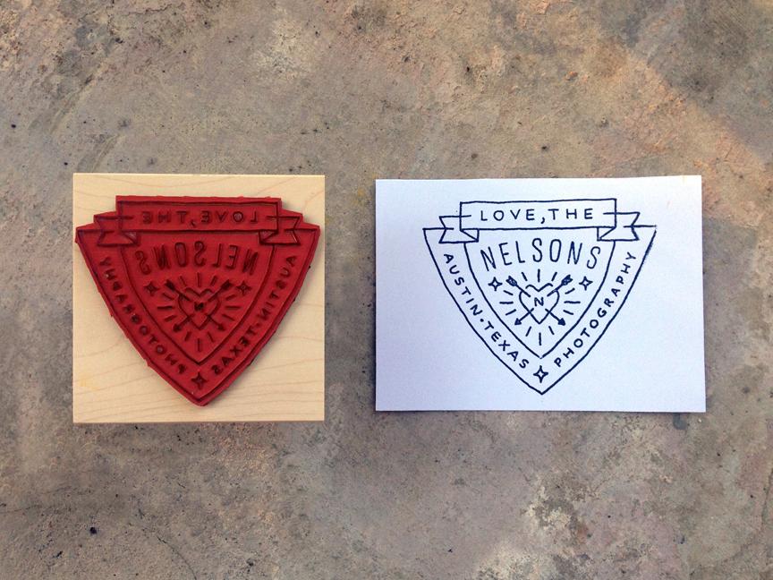 Lovethenelsons stamp