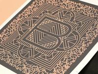 TypeFight - B Print