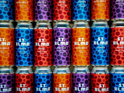 St. Elmo 4 Year Anniversary 4-Packs
