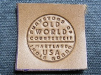 OWC Leather Label