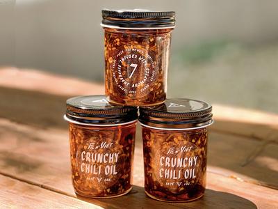 Fil N' Viet Crunchy Chili Oil