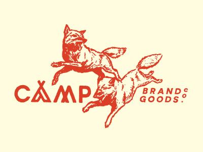 Camp brand goods co.   fall tee