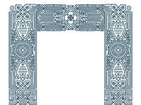 Rejected border and pattern