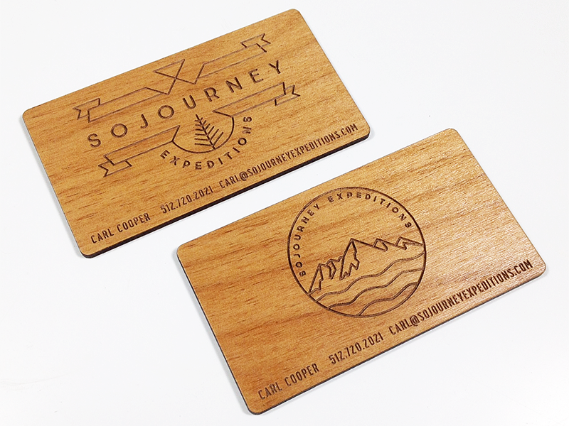 Sojourneyexpeditions woodbizcards