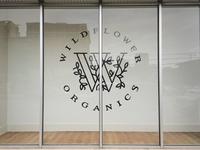 Wildflower Organics store signage