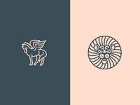 Pegasus & Lion
