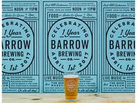 Barrow Turns 1