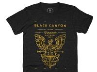 Black canyon   tri blend   men   tee   vintage black