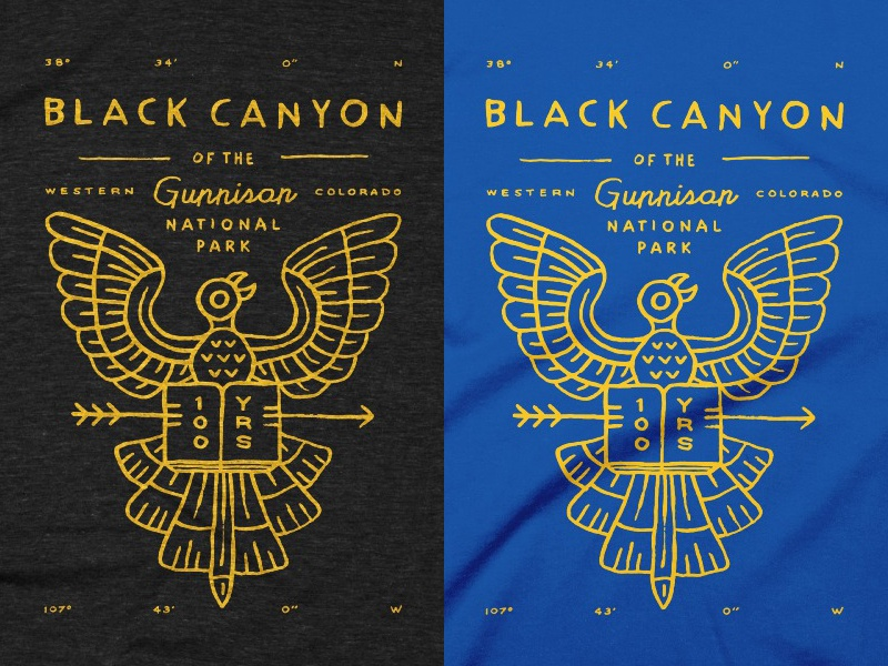 Type Hike t-shirts