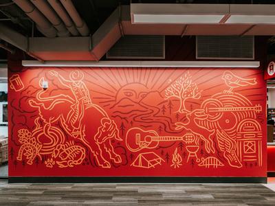Target Austin Store Mural