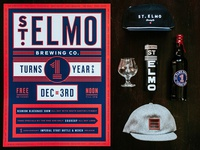 St. Elmo One Year Anniversary