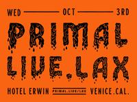 Primal Live Lax