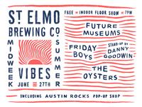 St. elmo midweek summer vibes flyer revised