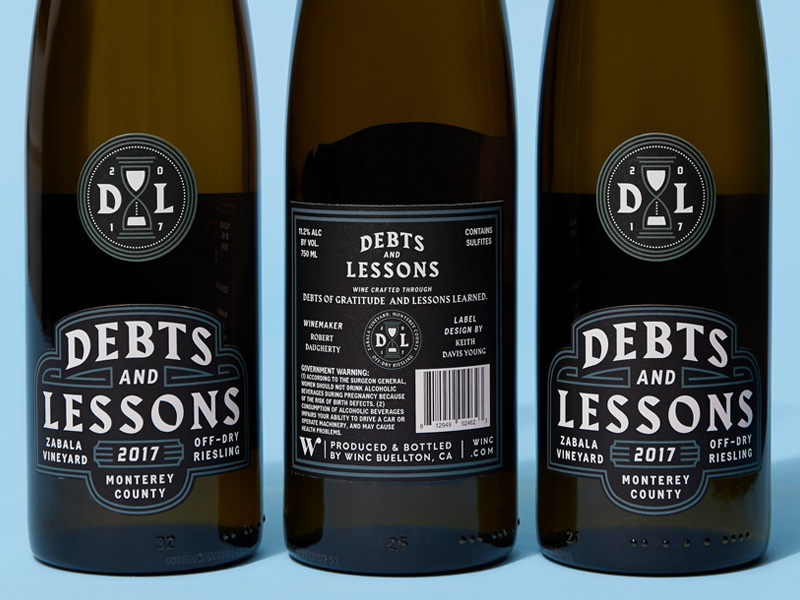 Debts & Lessons labels