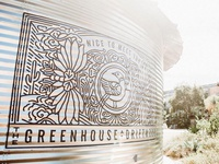 Greenhouse At Driftwood mural