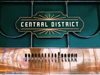 Central District bar signage