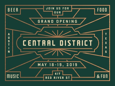 Central District Grand Opening