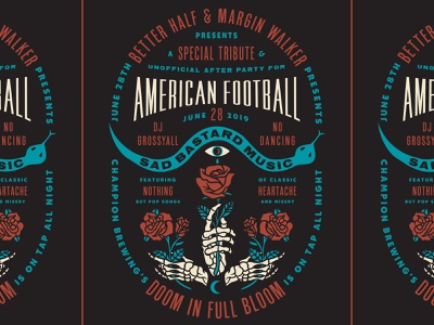 American Football after party
