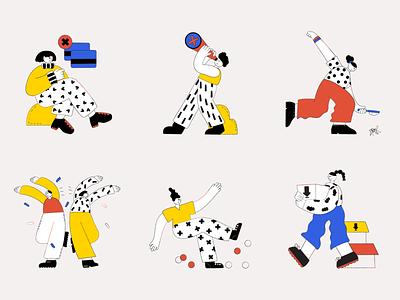 App illustrations app illustrations error empty state pattern ui web illustration character illustration