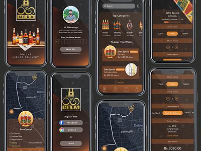 RahaMera Mobile App mobile app design