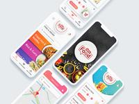 Food App UI UX Design