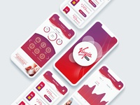 Self care mobile UI, Virgin Mobile